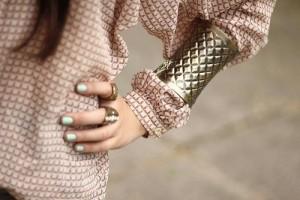 blusa camisa manga comprida cuff bracelete pulseira dica blog moda estilo