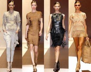 a moda das franjas 2013